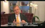Interview with Olli Rehn, the EU commissioner for enlargement