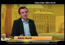 Intervist�: Albin Kurti